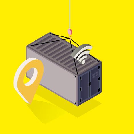 Satama logistiikka pyörii automaation ja langattomien yhteyksien avulla