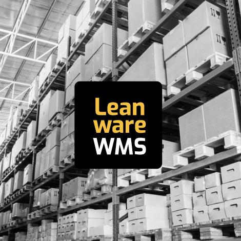 Varasto jota hallitaan LeanwareWMS varastonhallinta-ohjelmalla